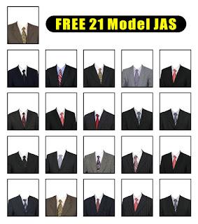 Free Model Jas PSD