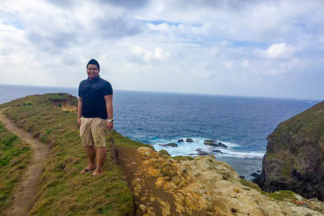 Fitz Balba in Chamantan Tinyan Viewpoint - Batanes
