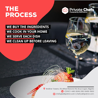 """Jake Adebayo's SkillPatron Launches an """"on-demand' Personal & Private Chef For Hire Service in Africa 3"""