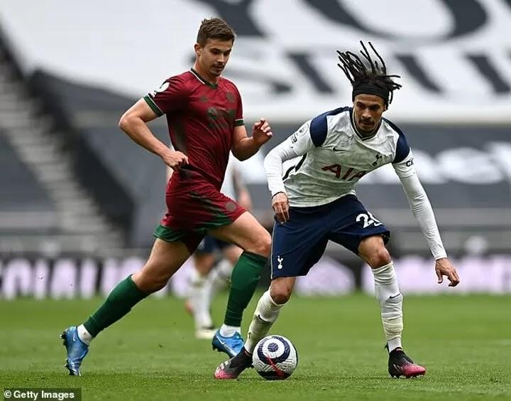 Mason praises Alli for 'excellent' performance as Tottenham beat Wolves 2-0