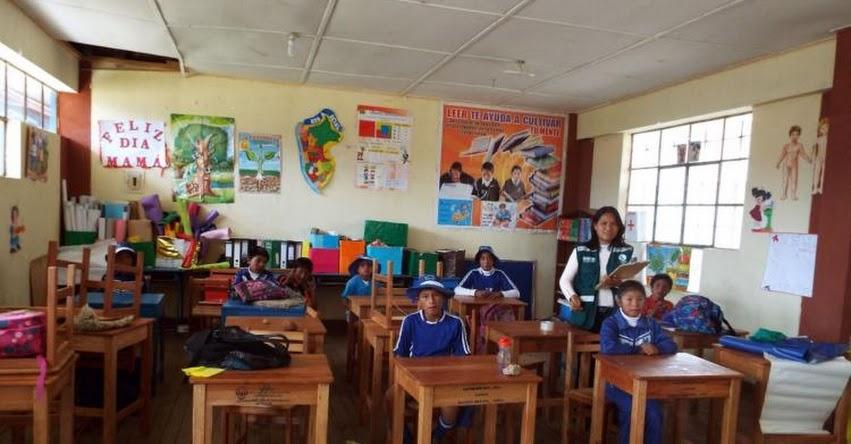 Proporcionan madera para fabricación de mobiliario escolar en Huancayo, Junín - SERFOR - www.serfor.gob.pe