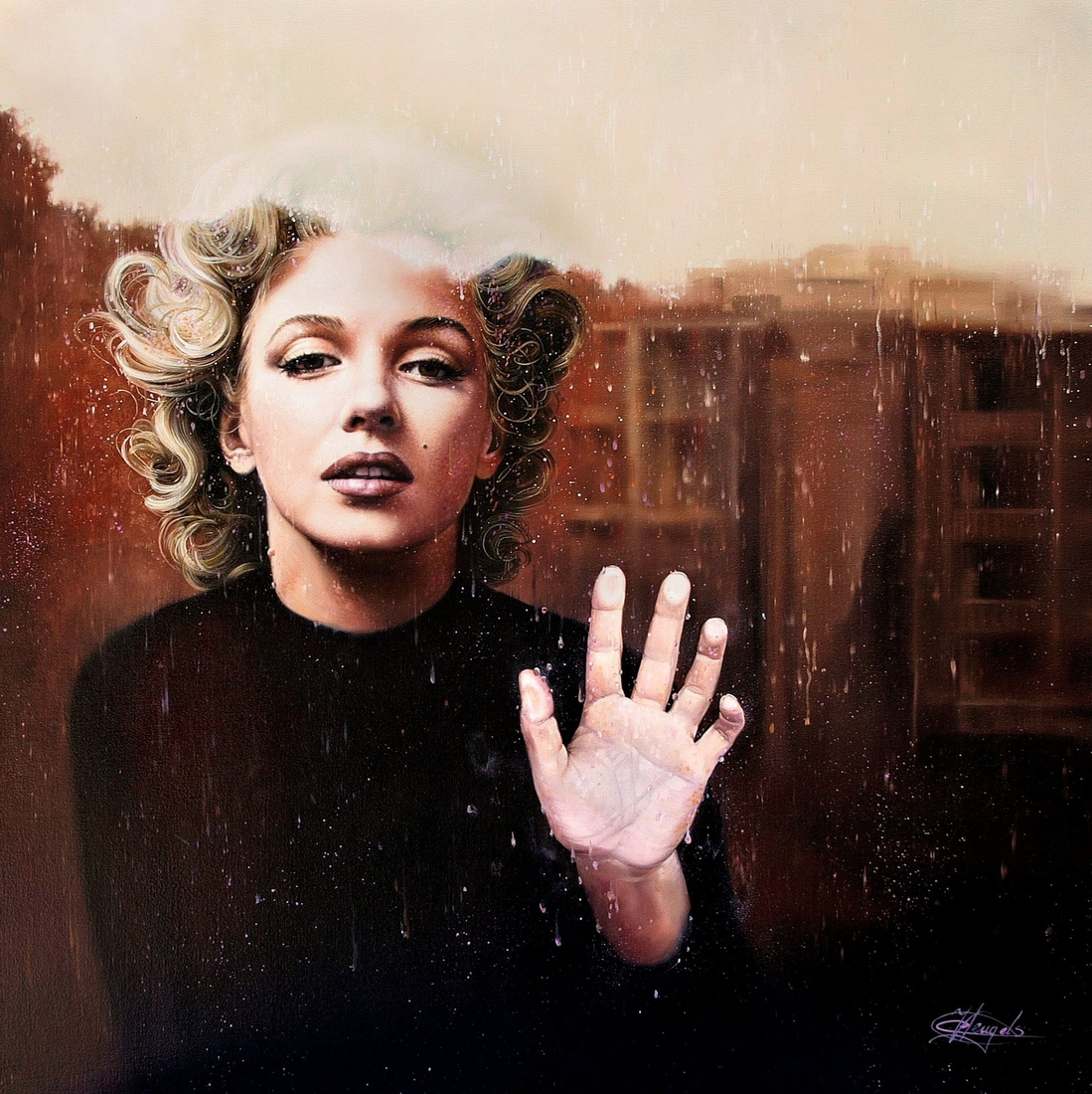 06-Marilyn-Monroe-Christiane-Vleugels-Flawless-Paintings-with-Incredible-Detail-www-designstack-co