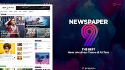 Download: Newspaper 9 'Premium Blogger Template' Paid Version - Chinaitechghana
