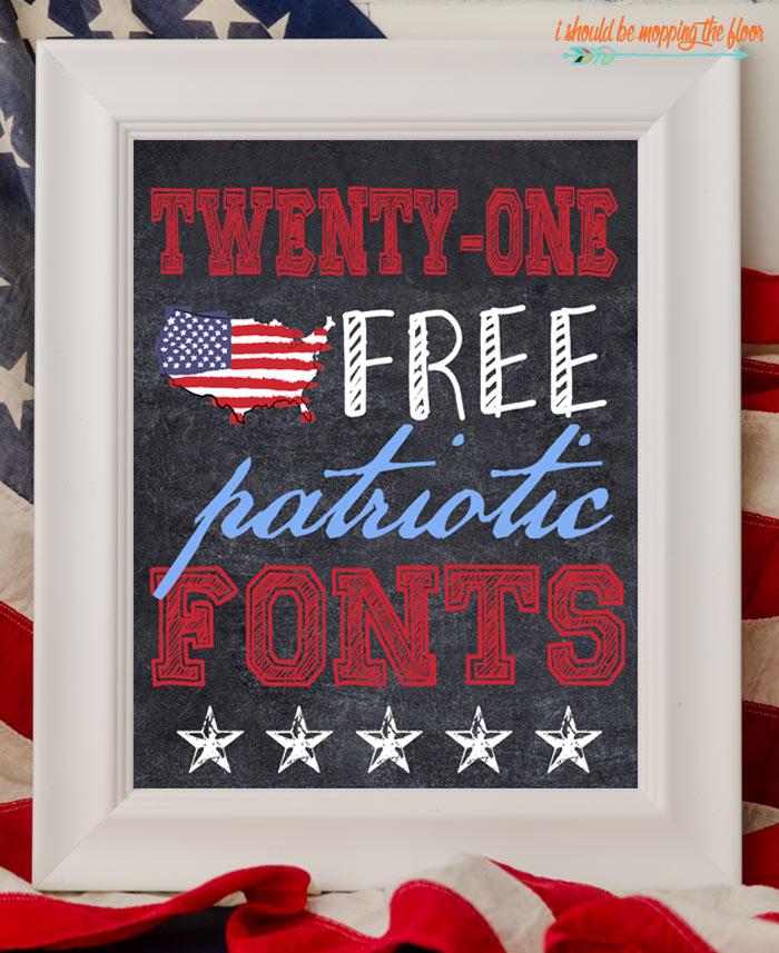 Patriotic Font Downloads