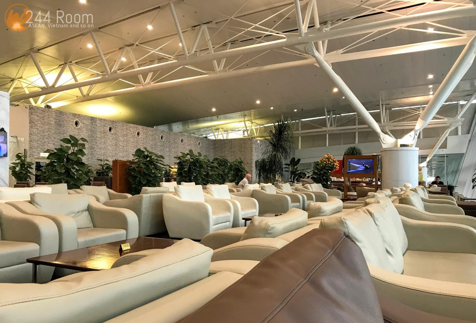 Hanoi Noi Bai International Airport lounge