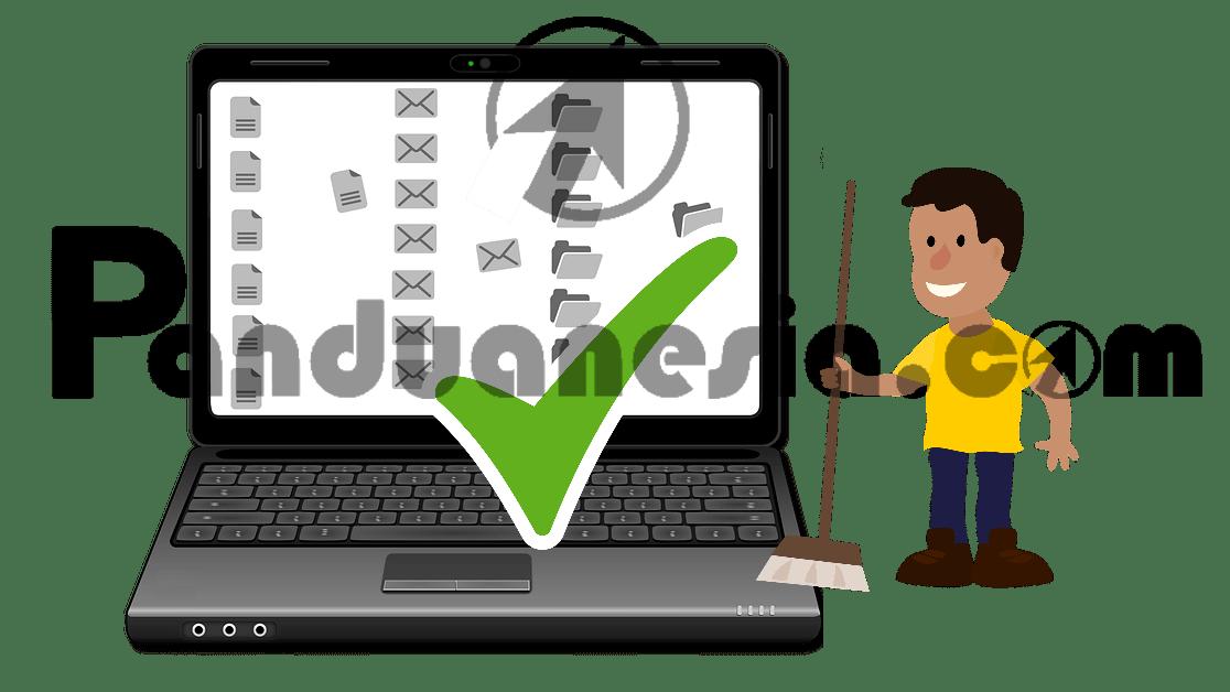 ara Membersihkan Laptop Kotor