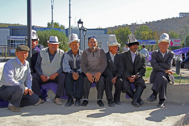Kirghizistan, Jalalabad, Kirghizes, © L. Gigout, 2012