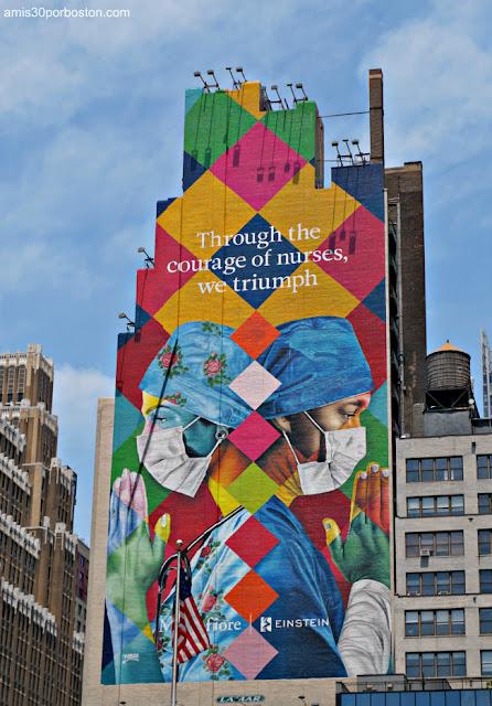 Mural en Nueva York
