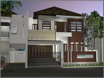 model rumah minimalis dua lantai terbaru