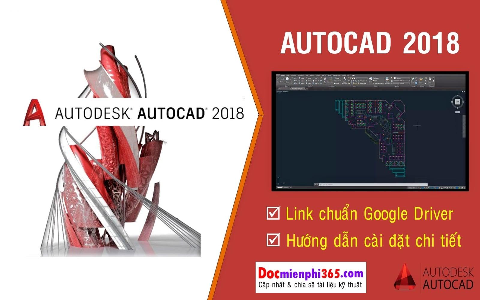 Autocad 2018 Full Link , Hướng dẫn cài đặt chuẩn | CADCAMCNC VN