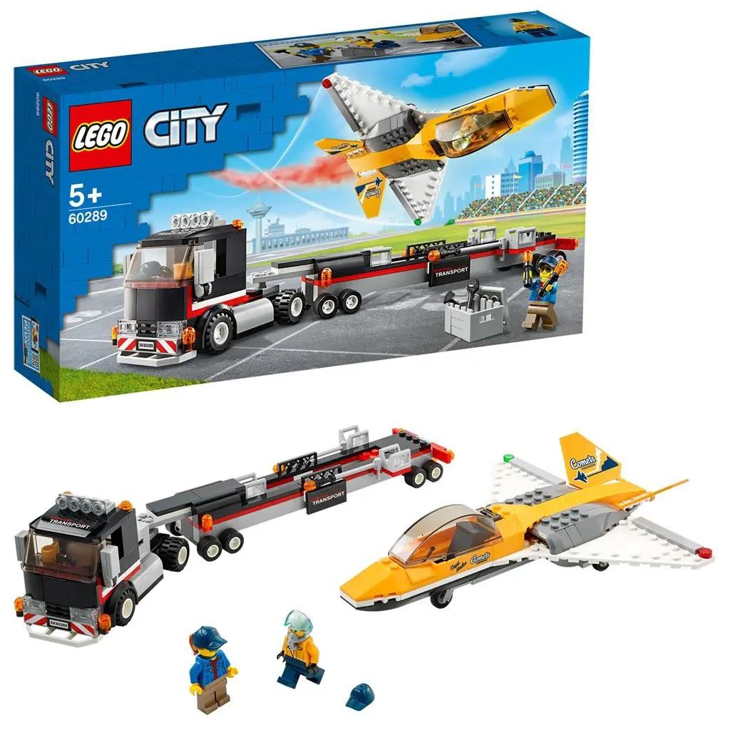 レゴ(LEGO) シティ エアショージェット輸送車 60289