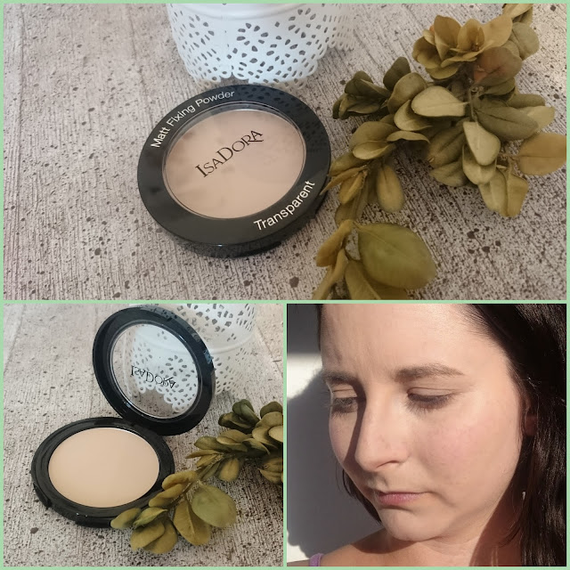 [Beauty] IsaDora Matt Fixing Blotting Powder 03 Sheer Nude
