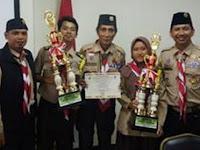 Pramuka MAN 3 Berhasil Raih Gudep Tergiat 2 Tingkat Kota Jakarta Pusat