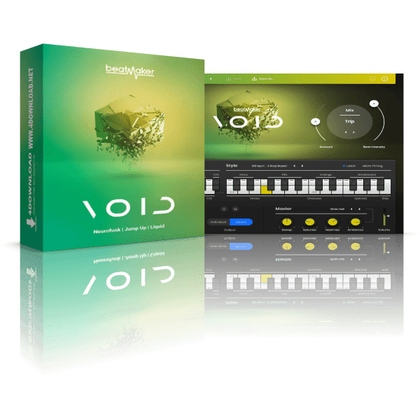 UJAM Beatmaker VOID v2.1.0 Full version