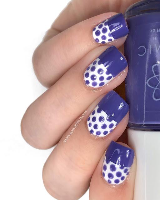 25 Sweetpeas Nails