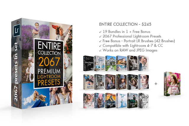 Bộ Sưu Tập Preset Với Nhiều Thể Loại Lightroom Presets - Entire Collection (ZIP) Trị Giá $245