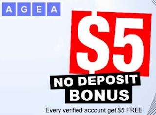Bonus Forex Tanpa Deposit AGEA $5