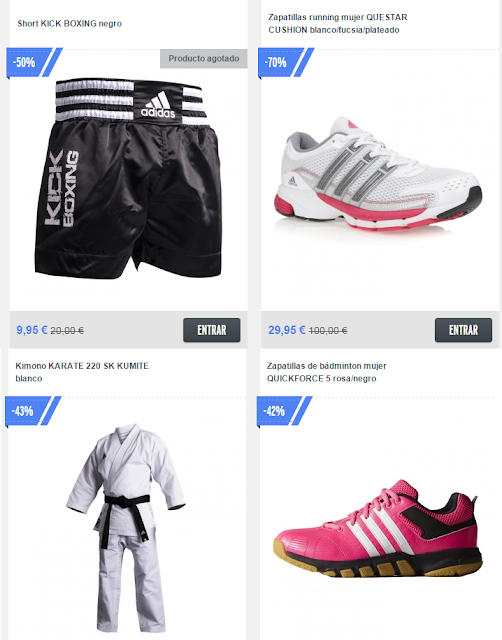 Private sport shop opiniones