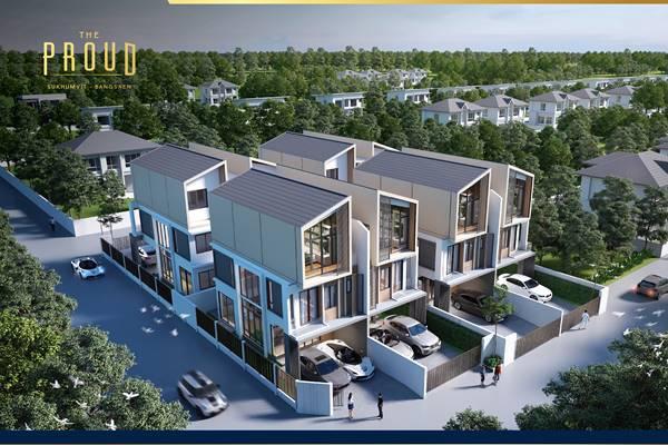 ขายบ้าน The Proud Bangsaen เดอะ พราวด์ บางแสน เมืองชลบุรี
