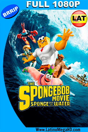 Bob Esponja: Un Héroe Fuera del Agua (2015) Latino FULL HD 1080P ()