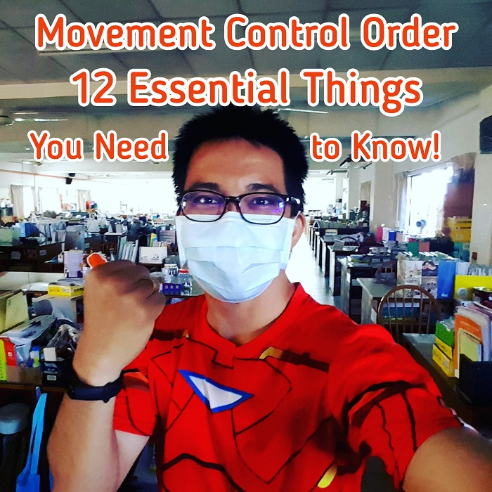 Movement Control Order: 12 Essential Things You Need To Know While Combating Covid 19