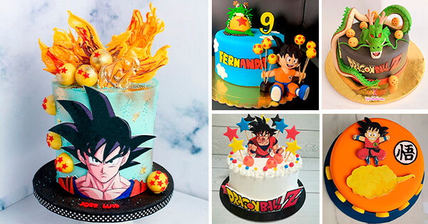 🎂 Tartas de Cumpleaños de Dragon Ball