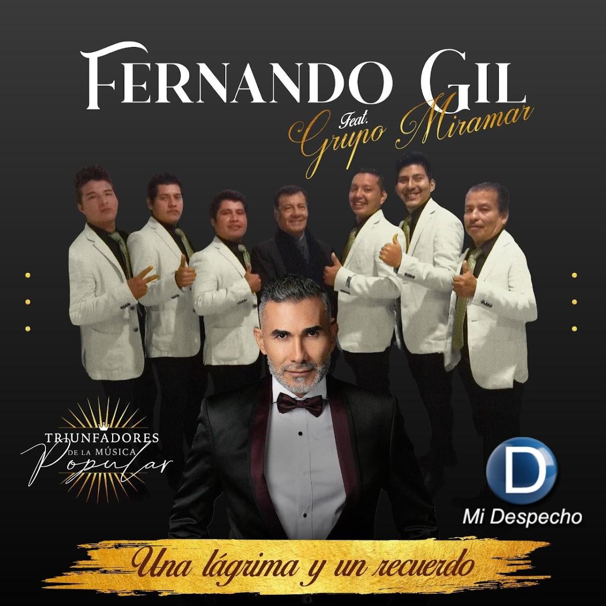 Fernando Gil Una Lágrima Y Un Recuerdo Frontal