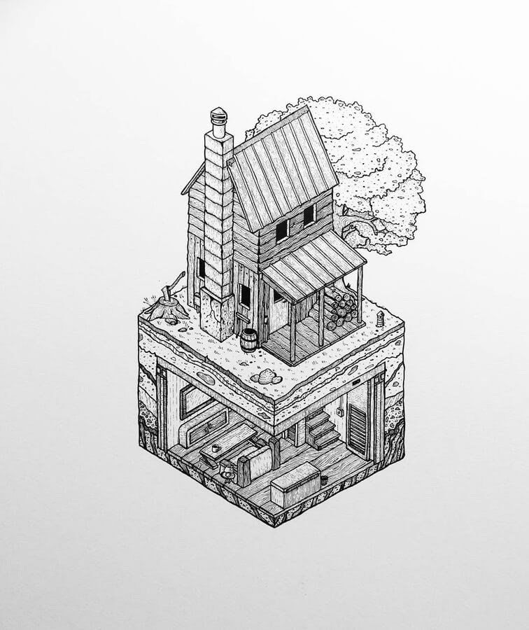 09-Isometric-cabin-Grant-Abernethy-www-designstack-co