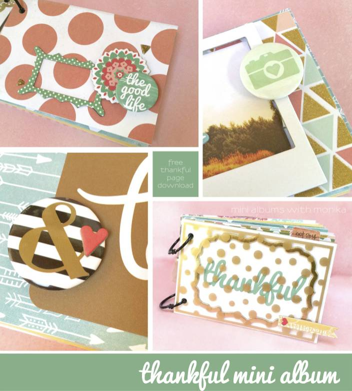 Print these 4x6 journaling cards from I Love It All and document your thankful thoughts throughout the year.