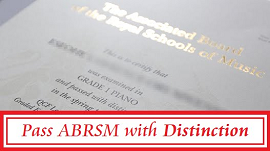 The fact that you are reading this means that you are serious about getting a good mark in your next ABRSM exam.