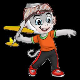 Logo dan Lambang Cabang Olahraga PON Jabar 2016 Aeromodeling