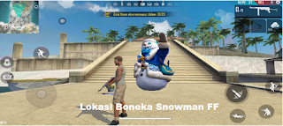 Lokasi Boneka Snowman FF Untuk Dapatkan Token Sock Free Fire
