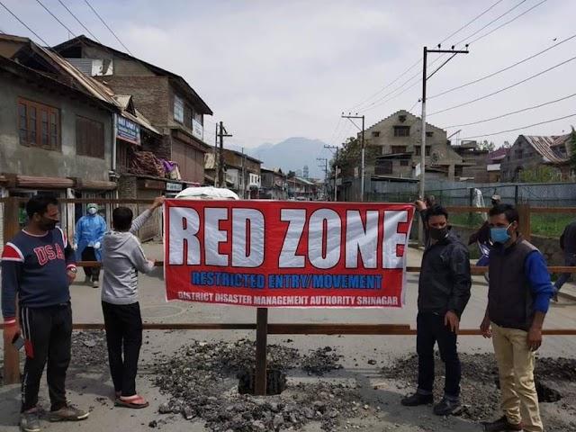 Nine Srinagar areas declared as micro-containment zones
