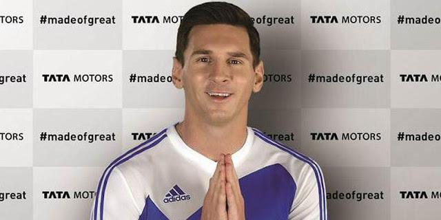 Tata Motors se anota un tanto y ficha a Messi