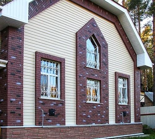 отделка фасада дома