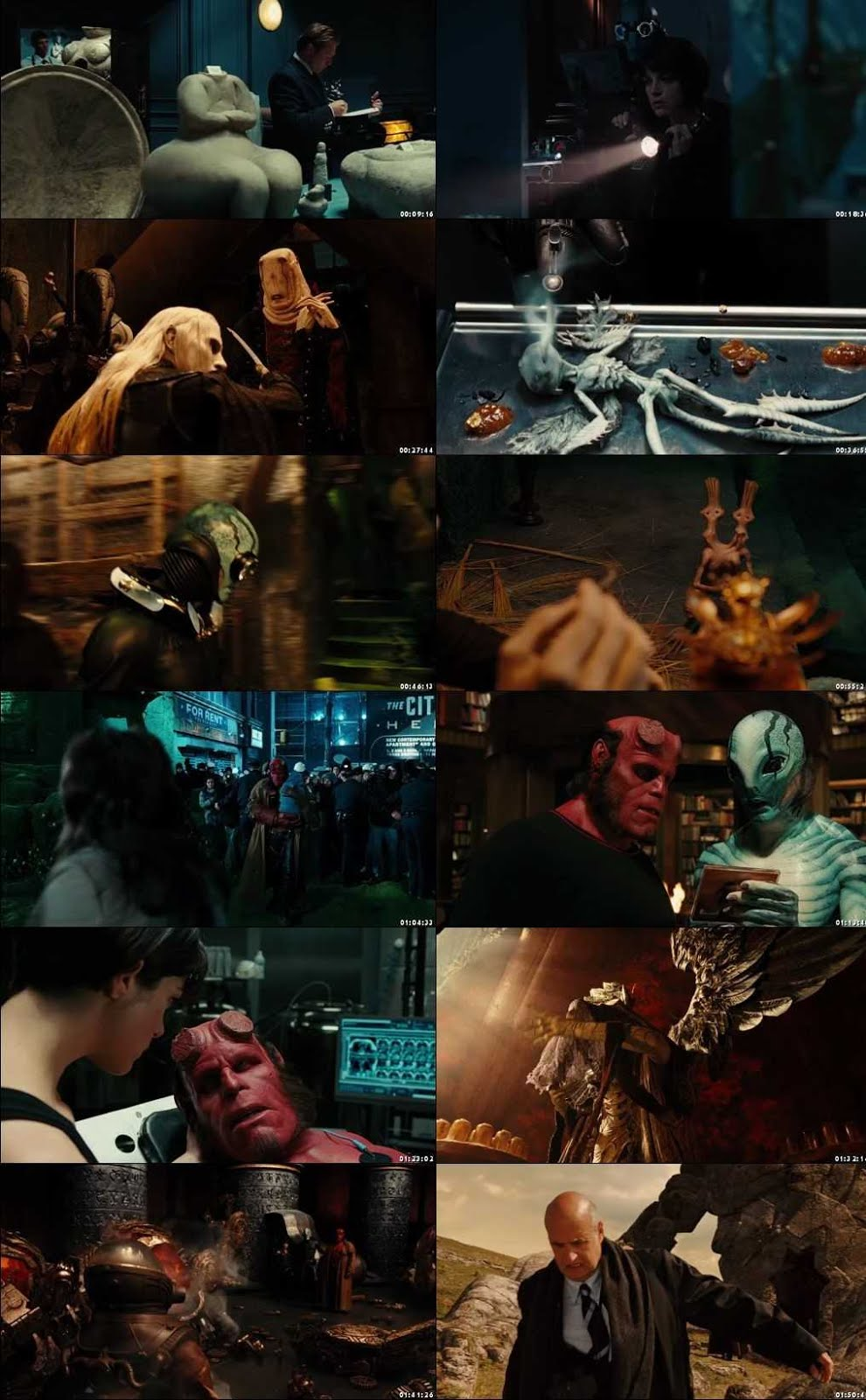 Hellboy II: The Golden Army 2008 Screenshot 1080p