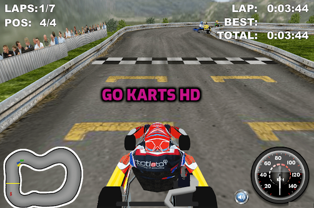 3D Games-Go Karts HD