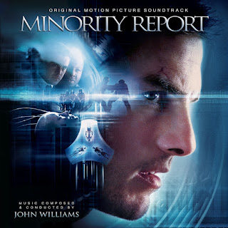 MINORITY REPORT JOHN WILLIAMS SOUNDTRACK COVER ALTERNATE