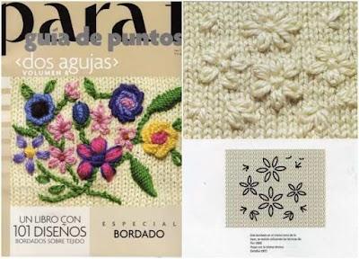 Guia de Puntos Bordados en Tejido Crochet