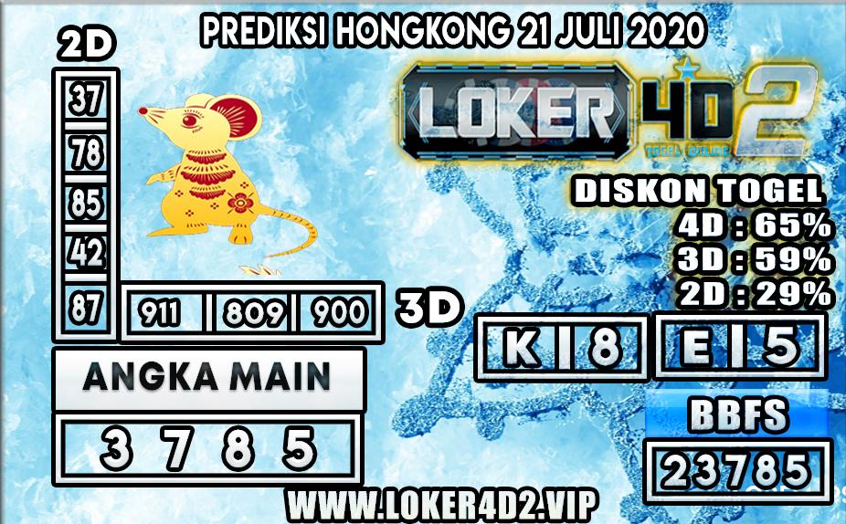 PREDIKSI TOGEL LOKER4D2 HONGKONG 21 JULI 2020