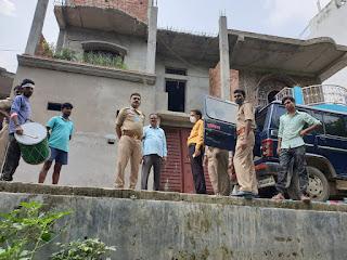 अपराधियों पर नकेल, 2 करोड़ का मकान कुर्क | #NayaSaberaNetwork