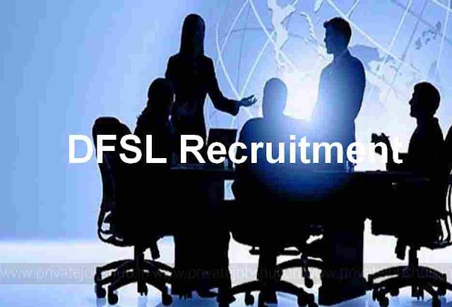 DFSL Recruitment