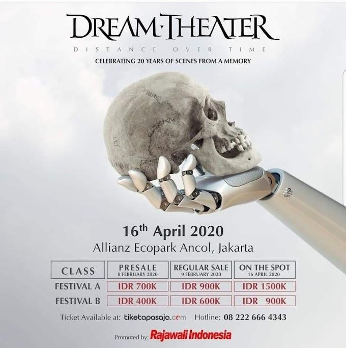 Dream Theater Bakal Guncang Indonesia 16 April 2020 Mendatang