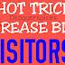2 HOT TRICKS INCREASE VISITOR
