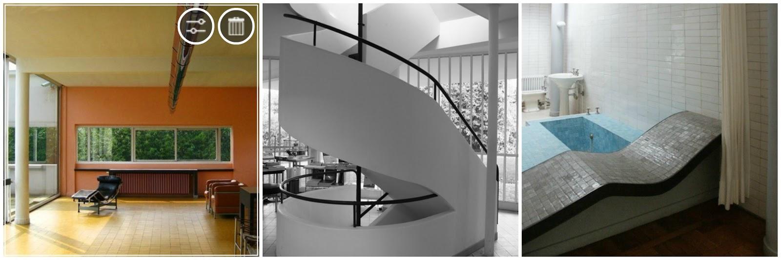 Il taccuino dell 39 architetto ville savoye il sogno for Interni di ville