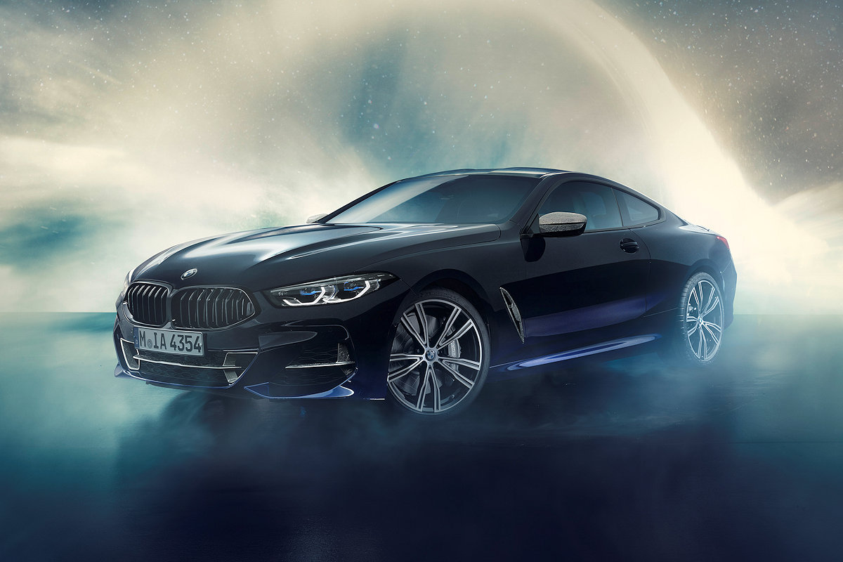 This Special Bmw 8 Series Contains Actual Meteorites W 7