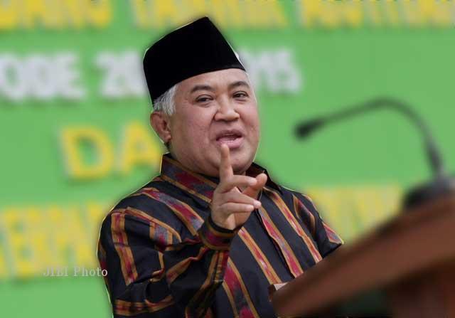 Langgar Kode Etik KPK, Din Syamsuddin: Kicau Saut Situmorang Bisa Bermakna SARA.