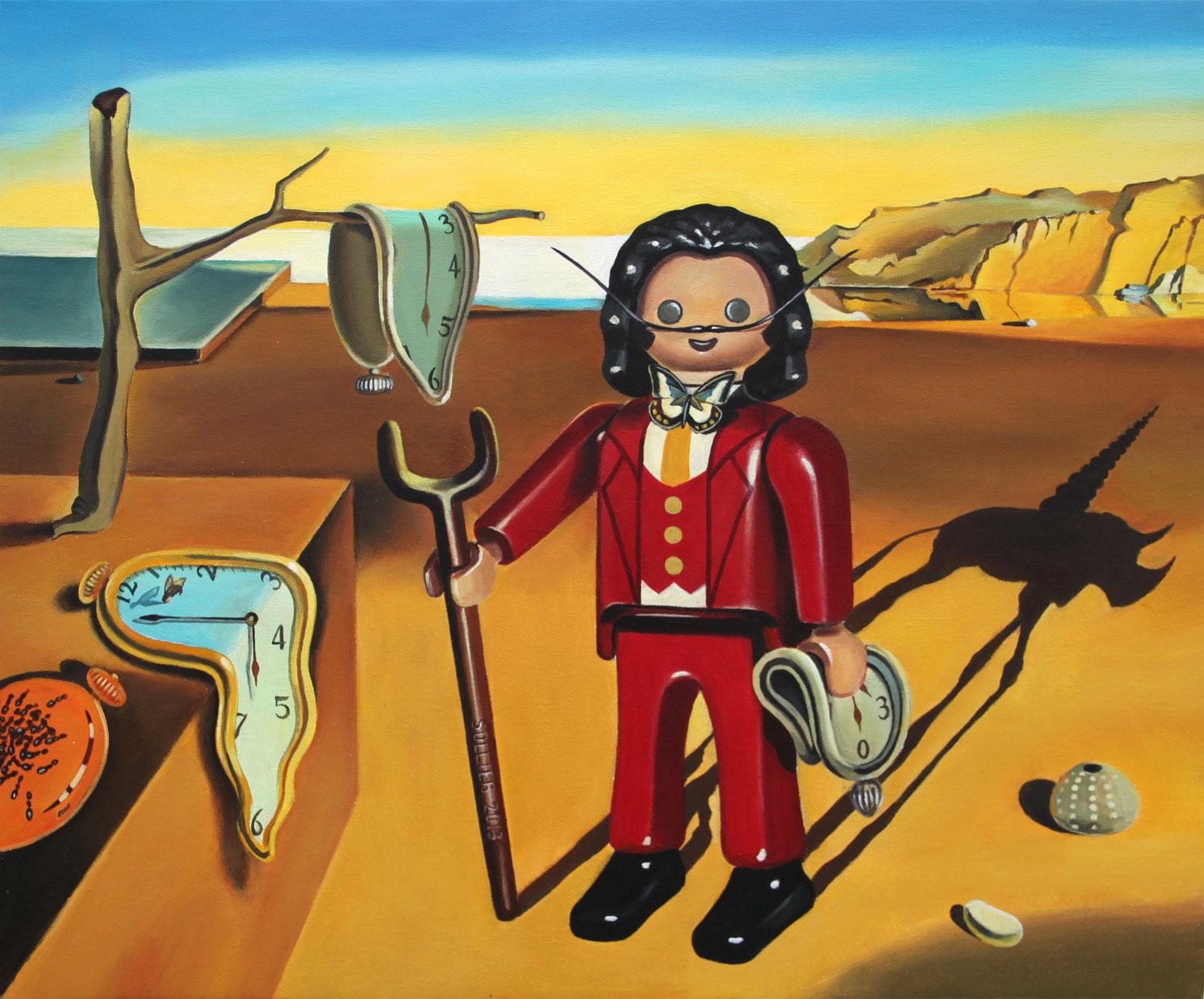 550509d340185 Artista leva o mundo Playmobil para as pinturas clássicas