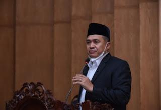 Bupati Batu Bara Hadiri Rapat Paripurna Pengambilan Keputusan Terhadap Ranperda APBD 2021