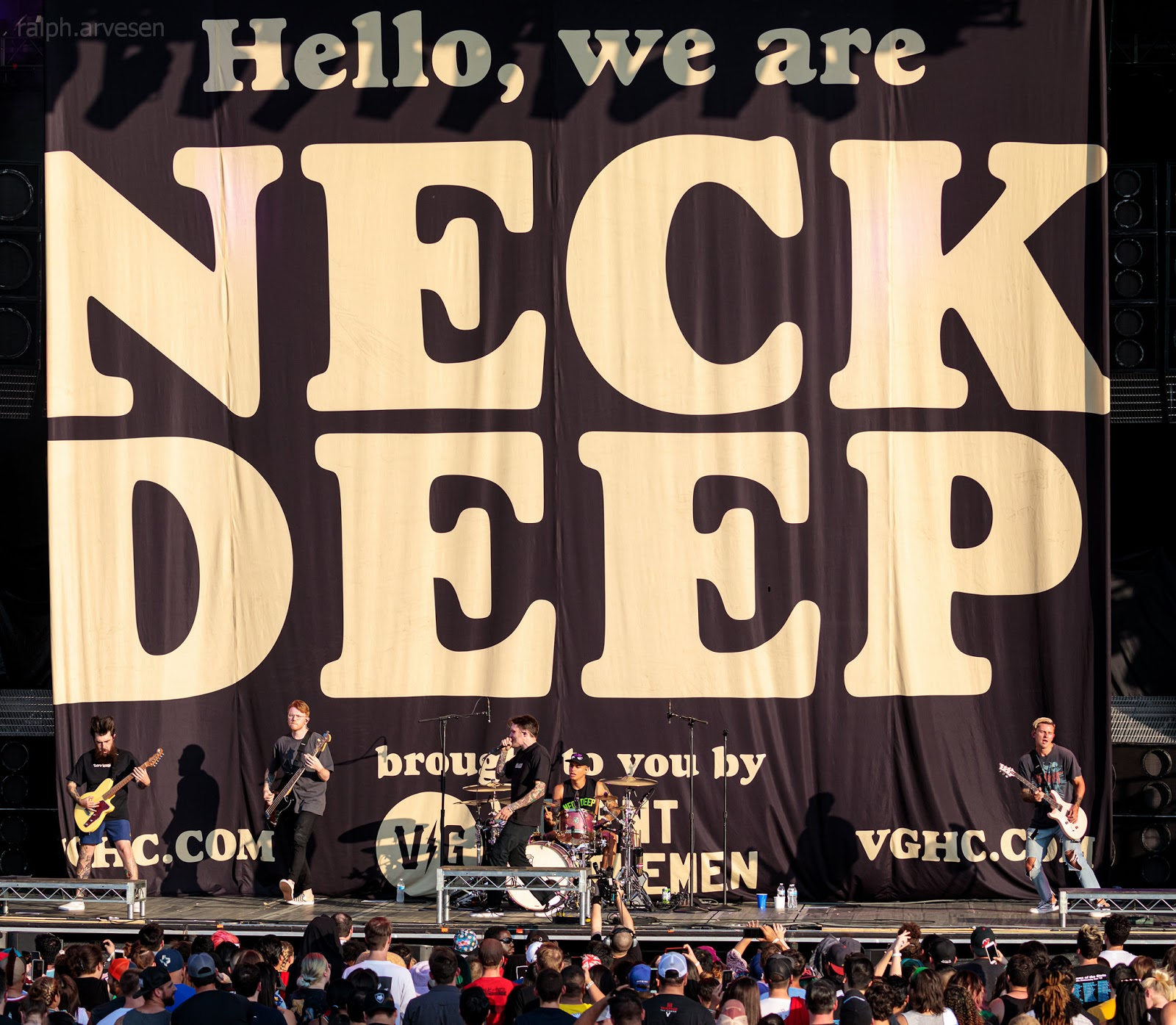 Neck Deep | Texas Review | Ralph Arvesen